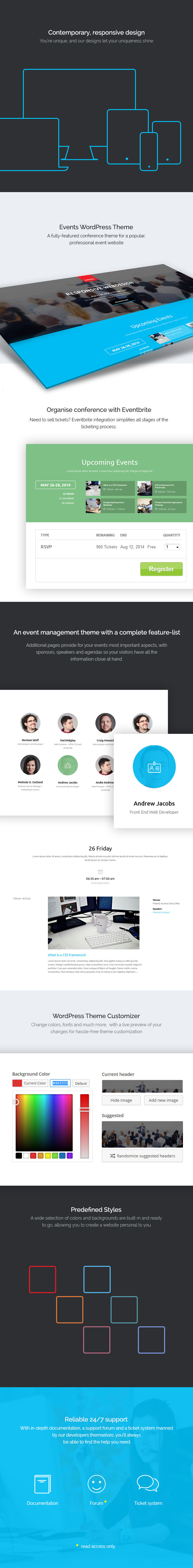 Events - WordPress Theme from GavickPro