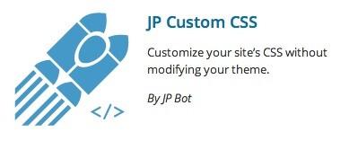 JP Custom CSS