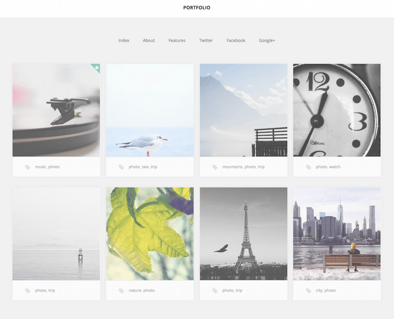 portfolio free wordpress theme