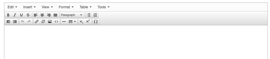 TinyMCE in Joomla! 3.4