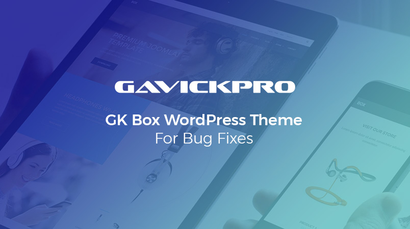 gk box ecommerce wordpress theme update