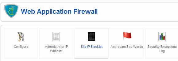 Akeeba Firewall Tool