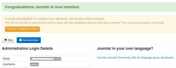 step 5 install joomla30