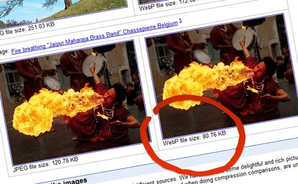 WebP - Best image format for Web   JPG vs  WebP