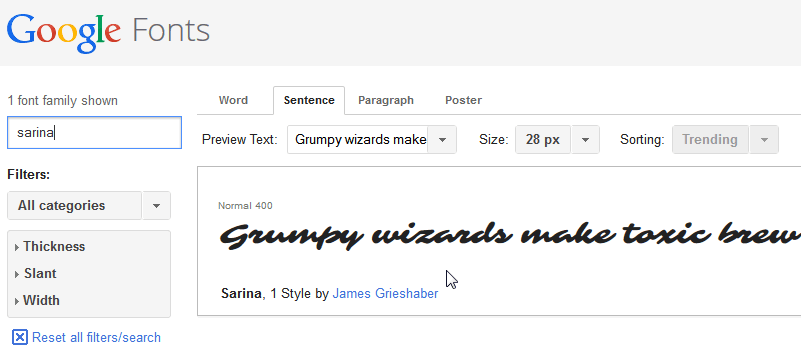 How to use Google Fonts with your language special characters