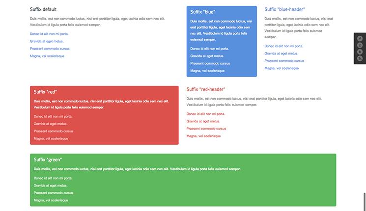 Joomla Framework Module variations-desktop