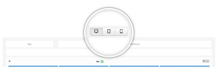 Joomla Framework  mode switcher