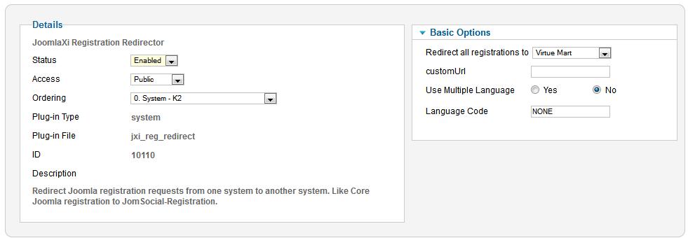 JoomlaXi Registration Redirector - Universal redirector