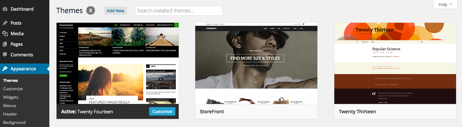 theme-selection-page