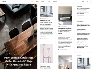 Decor Joomla template