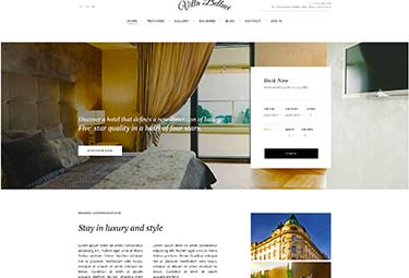Hotel theme for travel or museum
