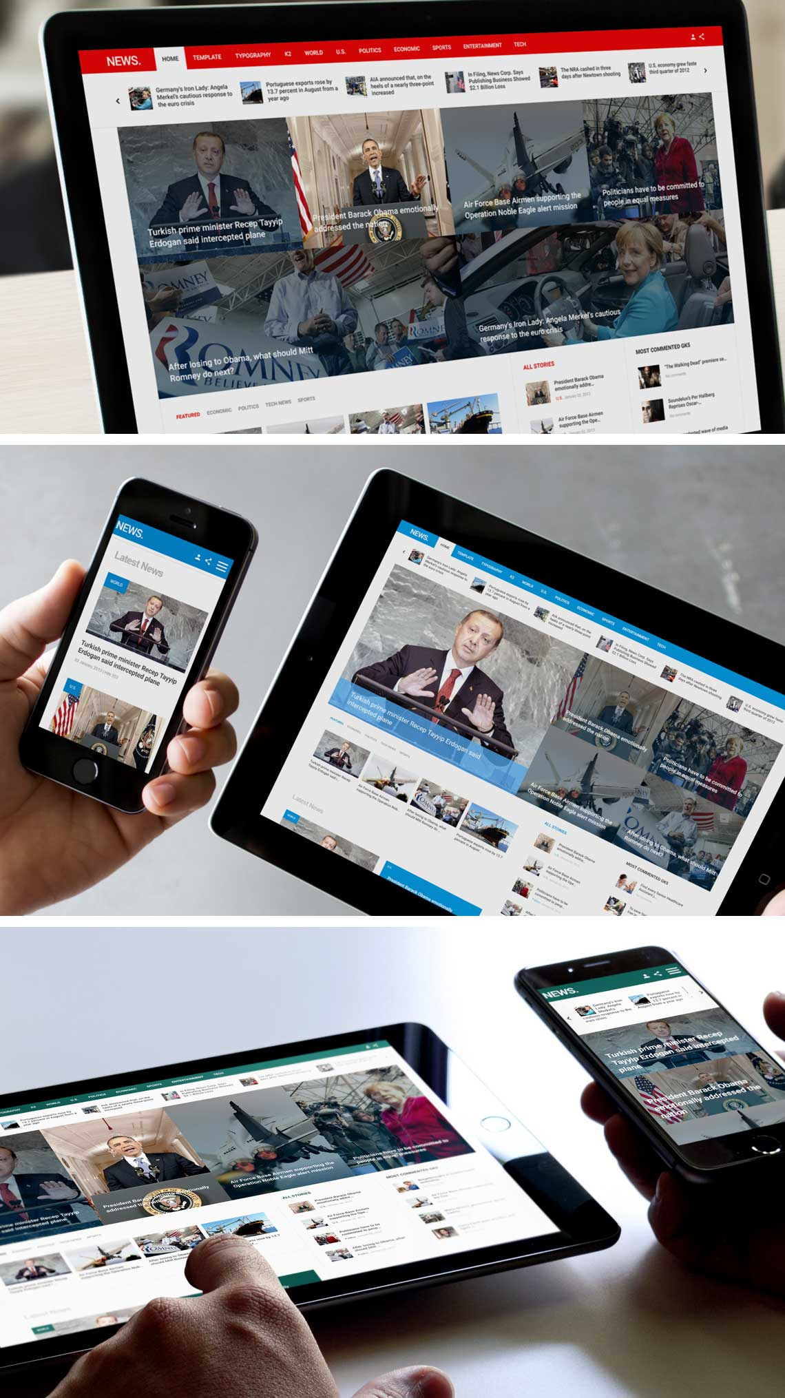 NEWS - Joomla Magazine Template