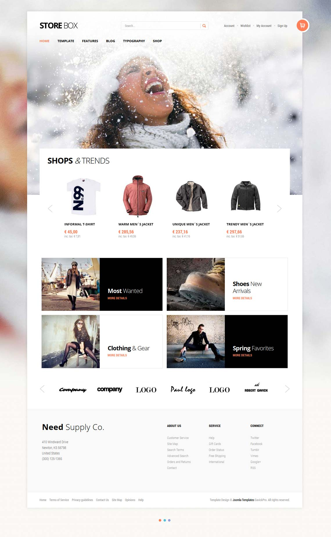 StoreBox - Joomla E-Commerce Template for Fashion Store | VirtueMart ...