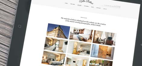 Responsive WordPress Gallery for Hotel Website