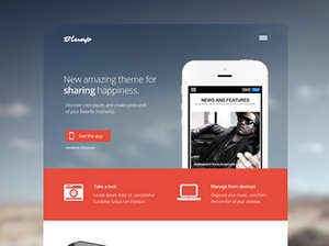 Bluap  - App Joomla Template