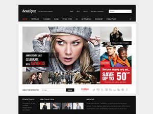 Boutique - Shopping Joomla Template