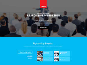 Event Manager Joomla Template