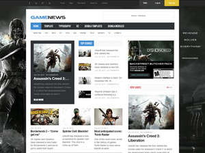 Game News Wordpress Theme