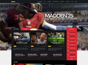 Game - WordPress gaming  theme