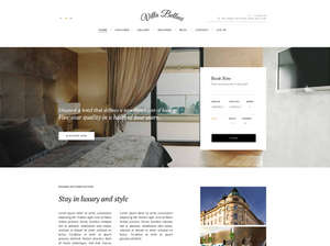 Villa Bellucci WordPress Hotel theme