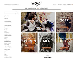 inStyle - e-Commerce  WordPress Theme based on WooCommerce