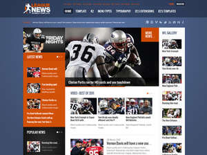 League News - Sports Joomla Template