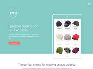 Mo - Showcase Joomla App Template