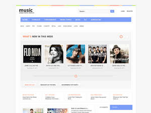 Music - Music Joomla Template
