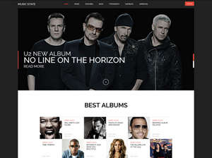 Music State - BuddyPress Music WordPress Theme