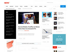 Free News Joomla Templates For Online Magazine GavickPro - Online magazine template
