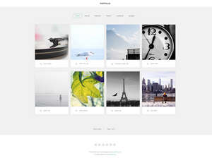 Portfolio Joomla Photography Template