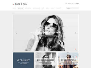 Shop and Buy - eCommerce WordPress Theme