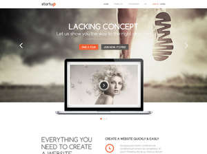 Startup - Joomla Template for Business or  Portfolio Websites