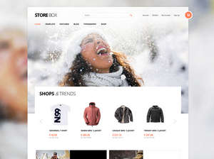 StoreBox - e-Commerce  WordPress Templates and Themes based on WooCommerce