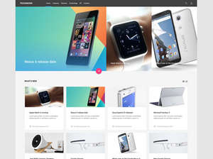technology news and reviews joomla template