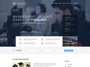 University Education WordPress Theme